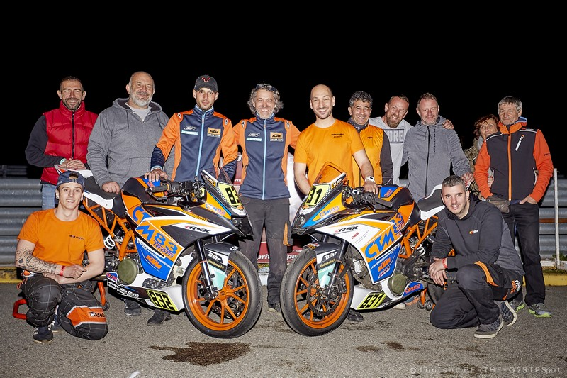 3HEURES2019 Groupe CTM83 KTM 250 RC