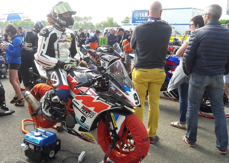 ktm rc 390 cup le mans 2017 coupe de france promosport 400