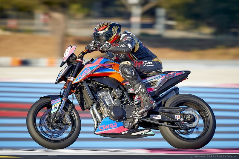 KTM 790 Duke  MOTO ET MOTARDS high side CTM83 Bol d'Argent 2019