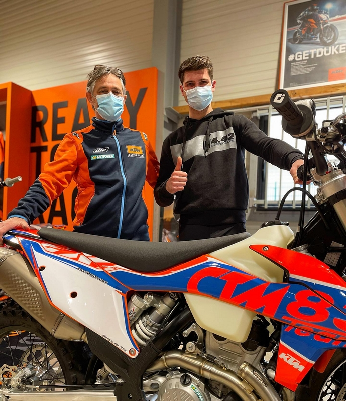 Neels THERIC ktm 450excf